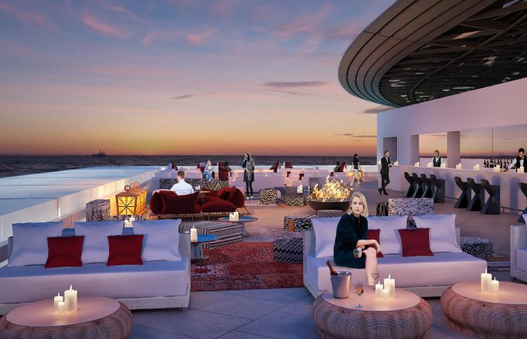 The Art Lounge terrace